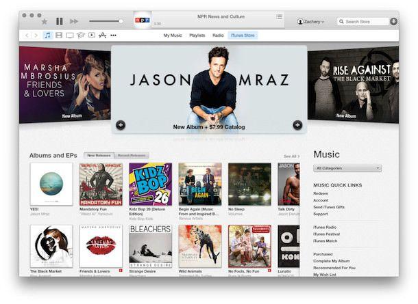 iTunes 12 для OS X Yosemite-6