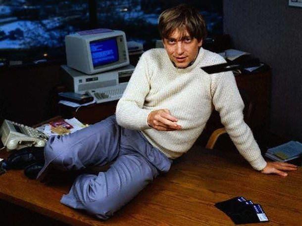 В 31 год Гейтс стал миллиардером