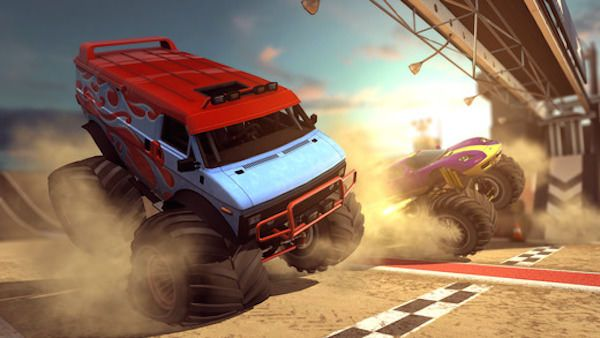 mmx Racing - гонки на больших автомобилях для iPhone