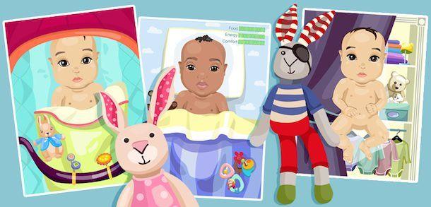 mybabysim - симулятор ребенка для iPhone