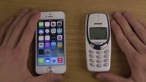 iPhone и Nokia