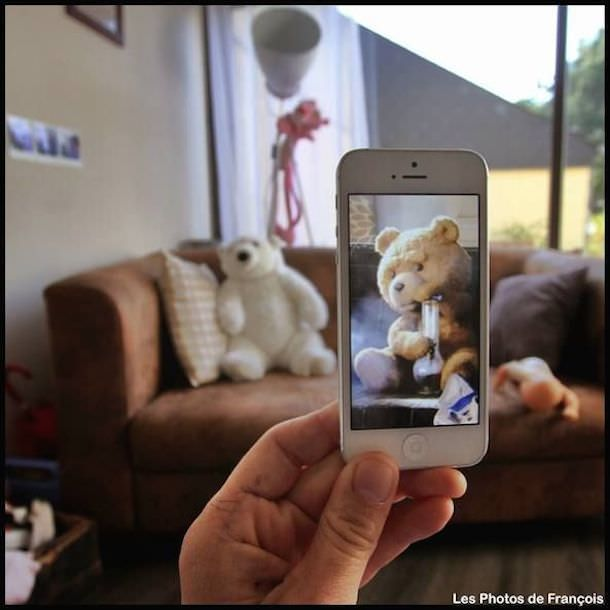 Креативные фото, созданные при помощи iPhone