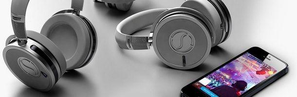 SoundSight - универсальные беспроводные наушники с возможностью съемки видео