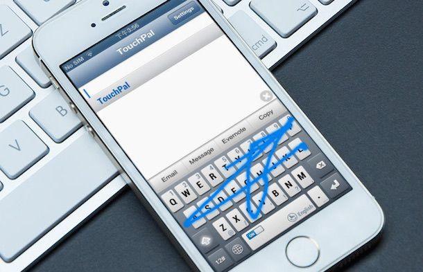 Клавиатура touchpal для iPhone