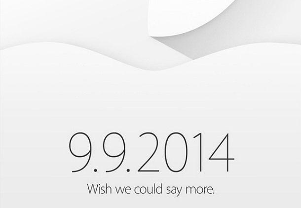 Apple инвайт 09.09.2014