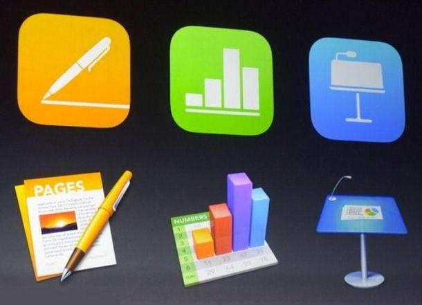 Программный пакет iWork получил обновление для iOS и OS X