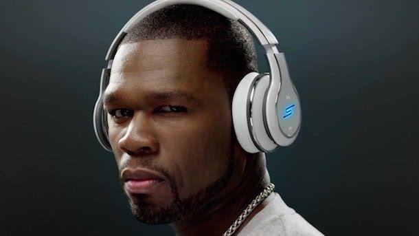 50 Cent в наушниках BioSport