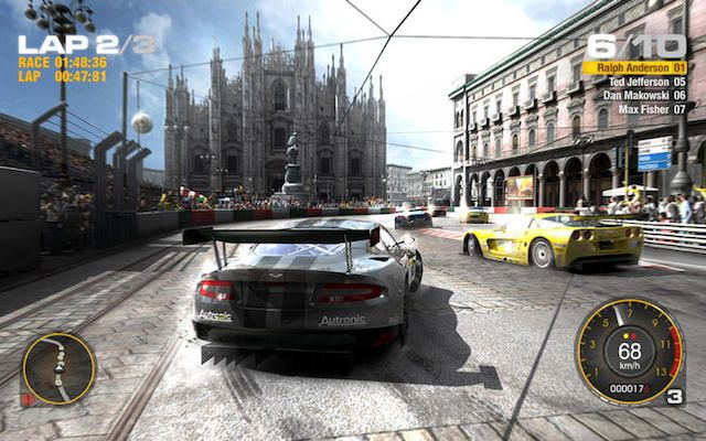 GRID - игра в жанре автогонок для Mac