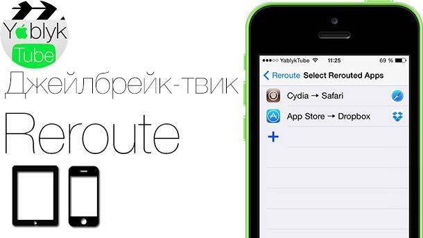 Reroute iOS 7