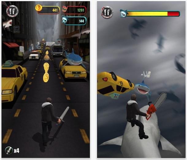 Игра Sharknado для iPhone и iPad