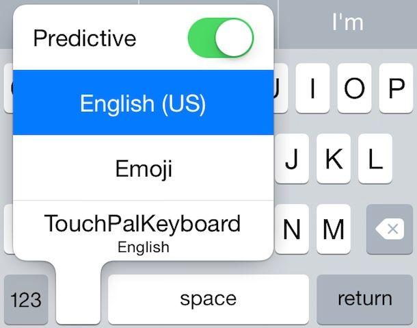TouchPal в действии