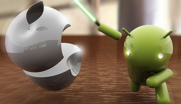 Android впервые обогнала iOS