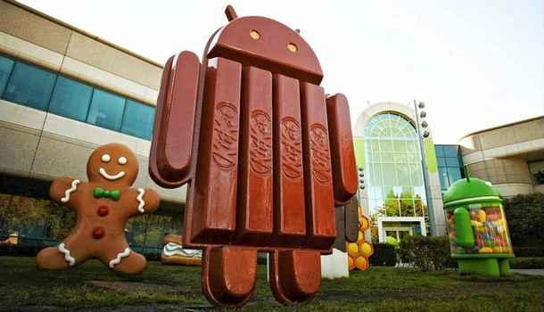 Доля использования KitKat на рынке Android-устройств выросла до 20%