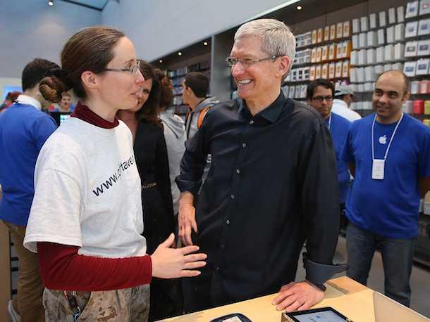 Apple Тим Кук
