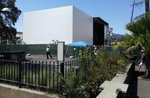 Рядом с Flint Center, местом презентации iPhone 6, Apple возводит загадочное здание