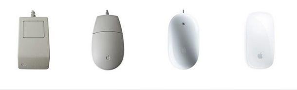 Эволюция мышек Apple