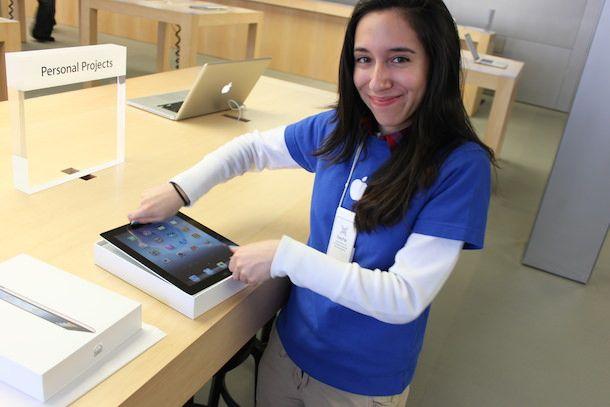 Apple работа на полставки