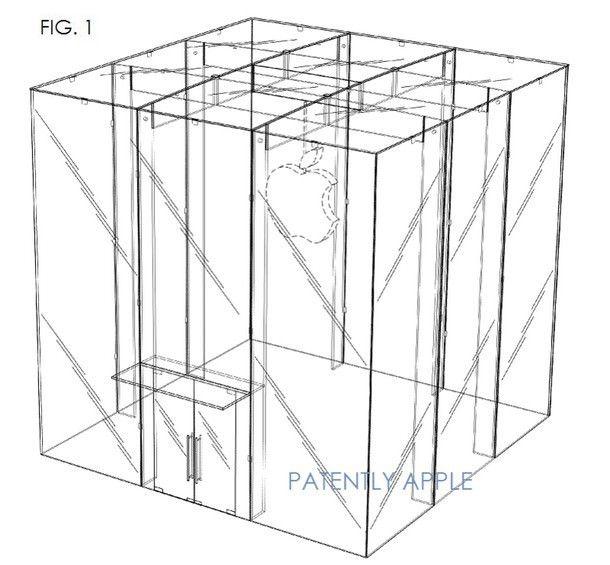 Компания Apple получила патент на дизайн Apple Store с Пятой авеню Нью-Йорка