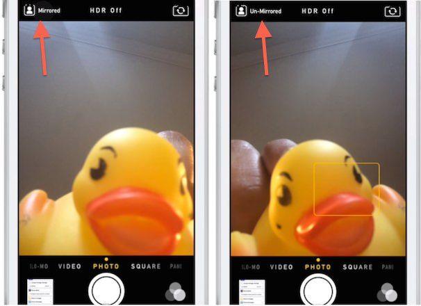 Камера iOS 7