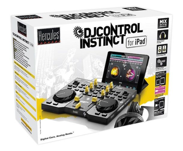 hercules djcontrol instinct for ipad комплект, упаковка