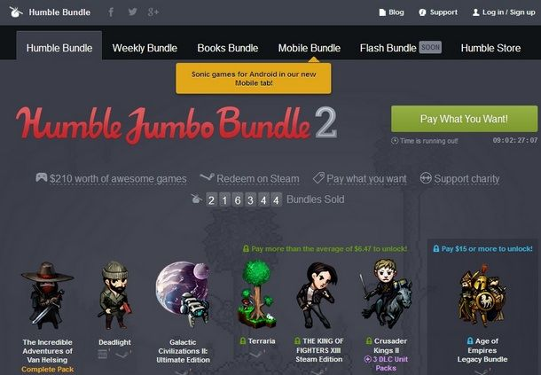 The Humble Bundle