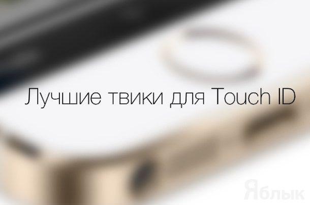 Твики из Cydia для Touch ID iPhone 5