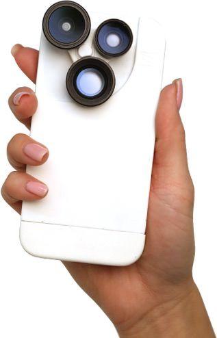 Чехол-объектив iPhone Izzi Orbit Pro