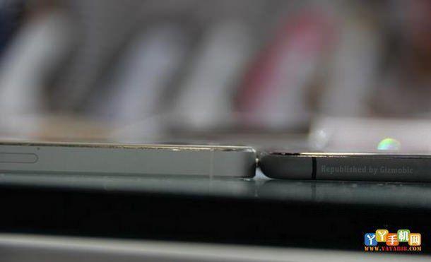 Сравнительные фото iPhone 6 и iPhone 5