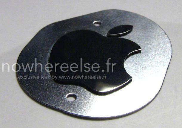 логотип с корпуса iPhone 6
