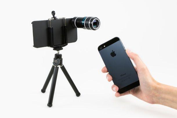 Телефото объектив для iPhone