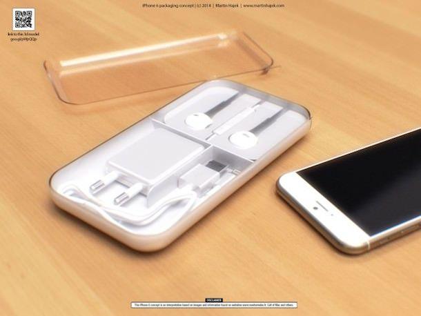 упаковка iPhone 6 комплект