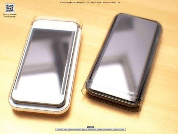 упаковка iPhone 6