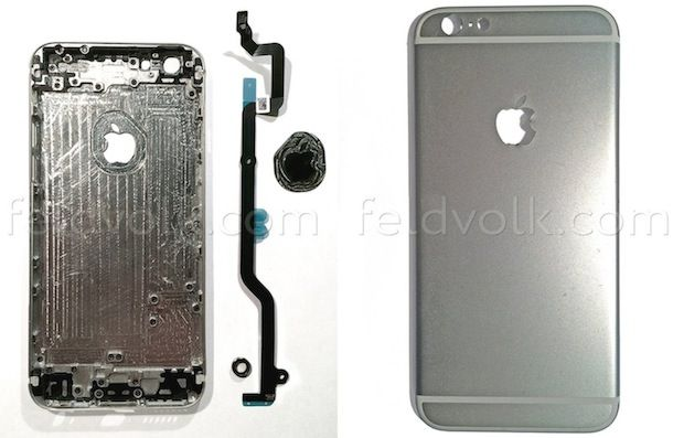 Задняя панель iPhone 6-4