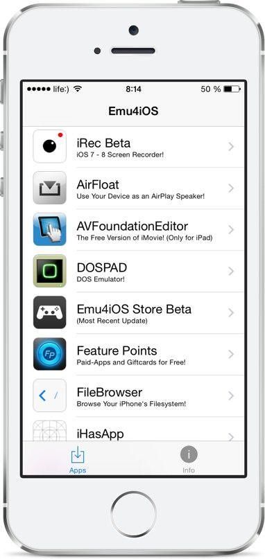 видео с экрана iPhone или iPad