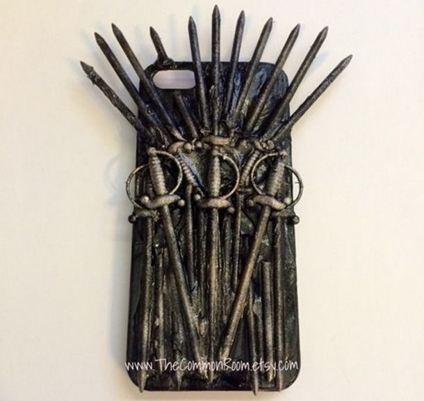 """Чехол для iPhone в виде """"Железного Трона"""" из """"Игры престолов"""""""