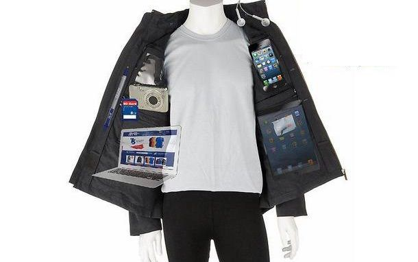 AyeGear® J-25 – куртка-трансформер на 25 карманов
