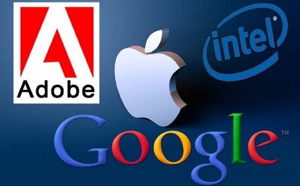Apple, Google, Intel и Adobe