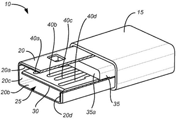 Новый lightning кабель с двухсторонним USB разъемом для iPhone и iPad