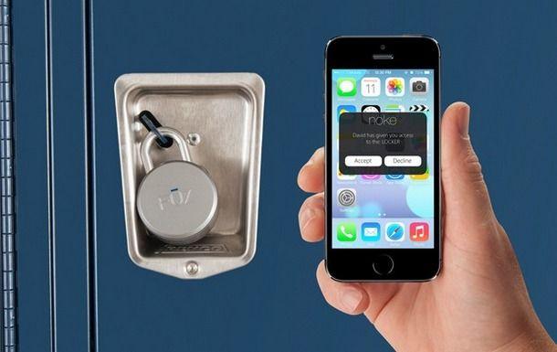 Noke - навесной замок, управляющийся iPhone