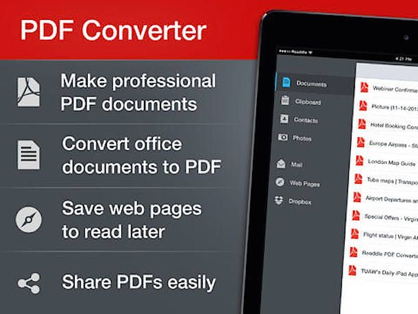 pdf coverter ipad