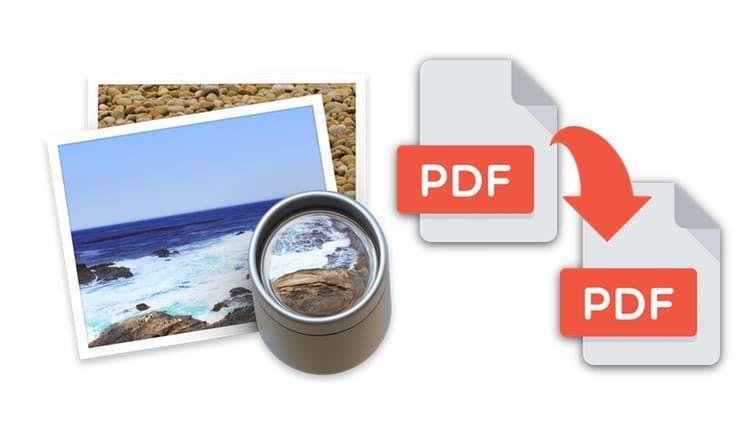 Как объединить несколько PDF-документов в один с помощью программы Просмотр на macOS