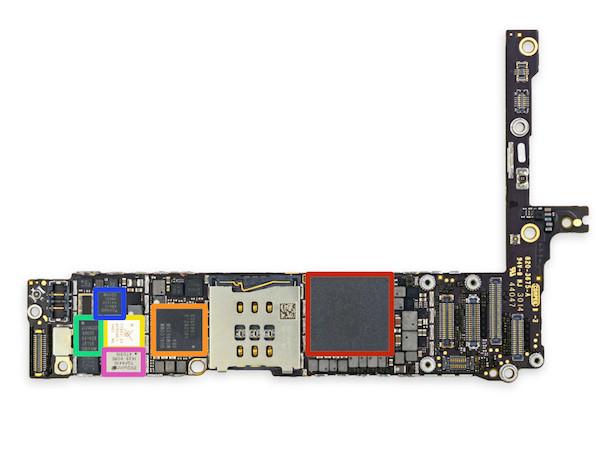 разобранный iPhone 6 Plus-2
