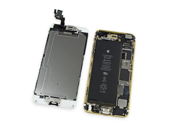 разобранный iPhone 6 Plus