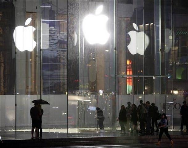 Возле Apple Store на Пятой Авеню начинает собираться очередь за iPhone 6
