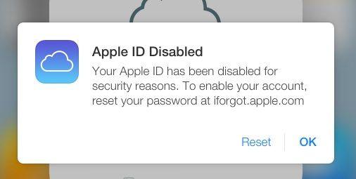 Уязвимость Apple ID
