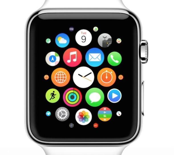 Приложения Apple Watch