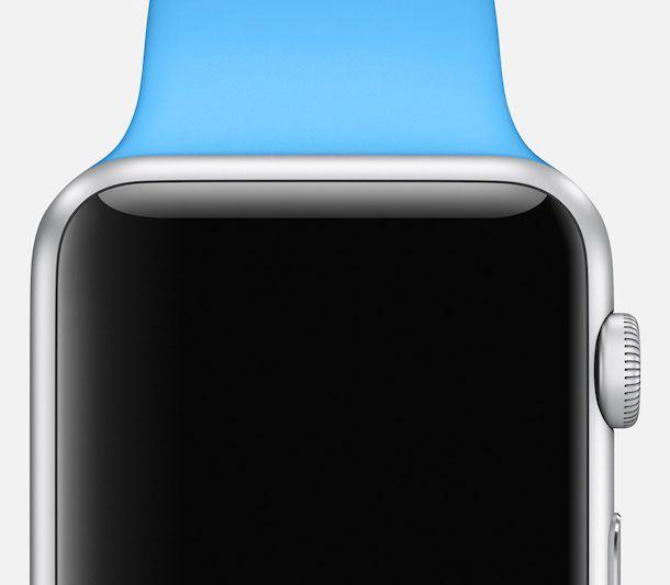 Apple Watch blue band