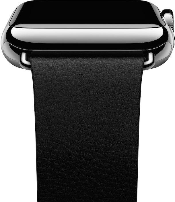 Apple Watch classic buckle side