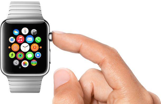 Apple Watch digital crown use