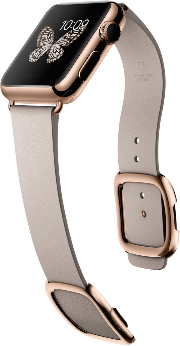 Apple Watch rose gold gray